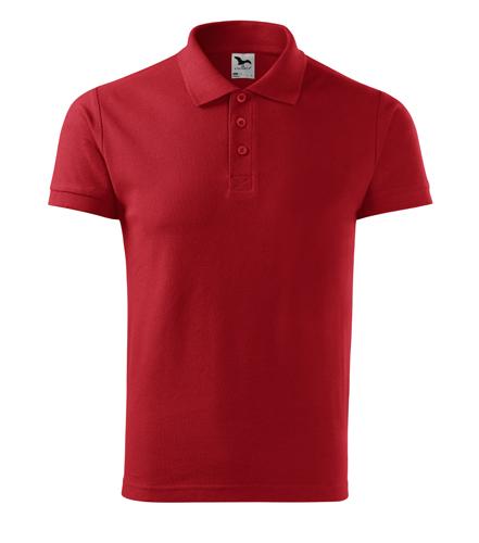 Koszulka Polo Męska A 212 Cotton  - 212_07_A - Kolor: Czerwony