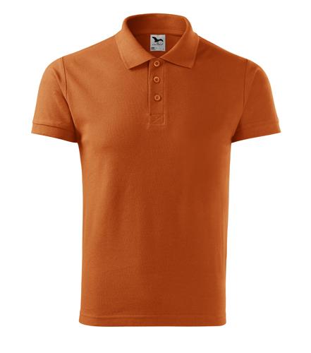 Koszulka Polo Męska A 212 Cotton  - 212_11_A - Kolor: Pomarańczowy
