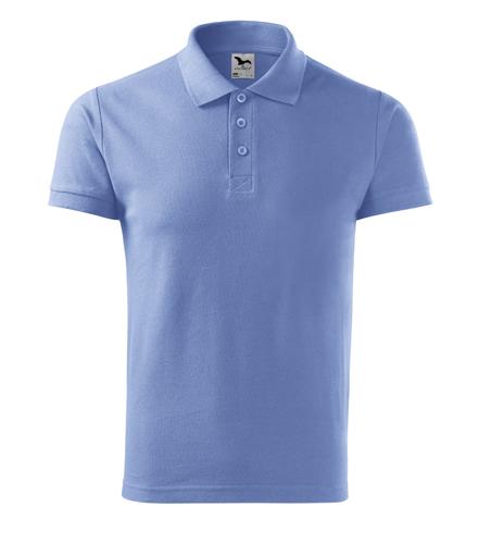 Koszulka Polo Męska A 212 Cotton  - 212_15_A - Kolor: Błękitny
