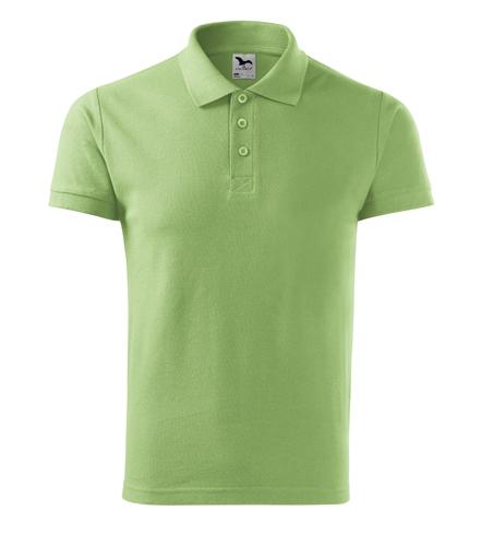 Koszulka Polo Męska A 212 Cotton  - 212_39_A - Kolor: Groszkowy