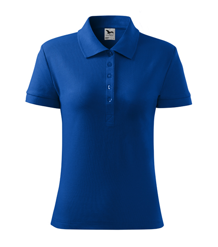 Koszulka Polo Damska  A 216 Cotton Heavy  - 216_05_A - Kolor: Chabrowy
