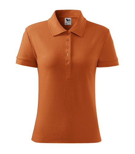 Koszulka Polo Damska A 213 Cotton  - 213_11_A - Kolor: Pomarańczowy
