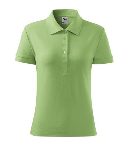 Koszulka Polo Damska A 213 Cotton  - 213_39_A - Kolor: Groszkowy