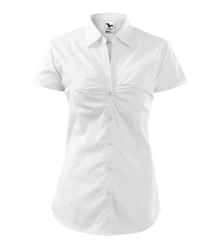Koszula Damska A 214 Chic  - 214_00_A - Kolor: Biały