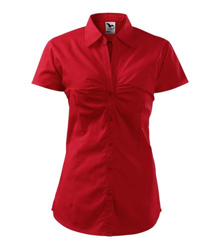 Koszula Damska A 214 Chic  - 214_07_A - Kolor: Czerwony