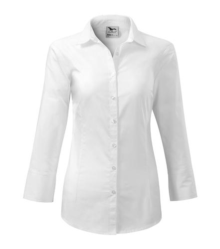 Koszula Damska A 218 Style z rękawem 3/4  - 218_00_A - Kolor: Biały