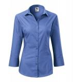 Koszula Damska A 218 Style z rękawem 3/4  - 218_14_A Lazurowy