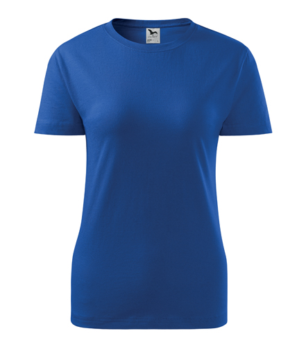 Koszulka Damska A 133 Classic New - 133_05_A - Kolor: Chabrowy