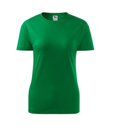 Koszulka Damska A 133 Classic New - 133_16_A - Kolor: Zieleń trawy