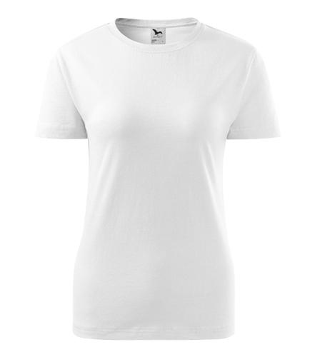 Koszulka Damska A 134 Basic  - 134_00_A - Kolor: Biały