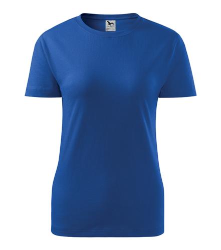 Koszulka Damska A 134 Basic  - 134_05_A - Kolor: Chabrowy