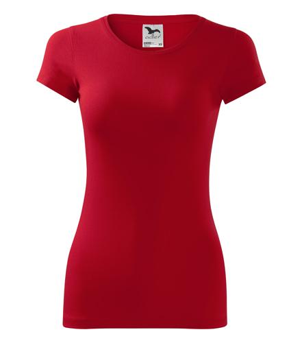 Koszulka Damska A 141 Glance  - 141_07_A - Kolor: Czerwony