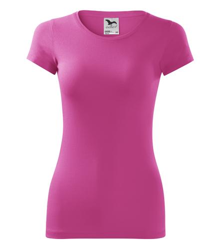 Koszulka Damska A 141 Glance  - 141_40_A - Kolor: Czerwień purpurowa