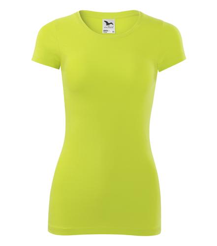 Koszulka Damska A 141 Glance  - 141_62_A - Kolor: Limetka