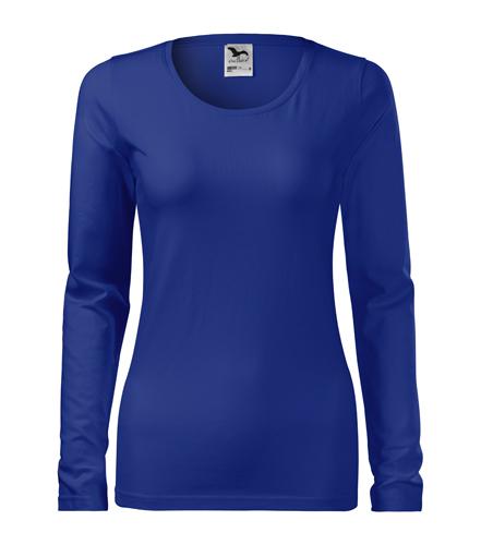 Koszulka Damska A 139 Slim  - 139_05_A - Kolor: Chabrowy