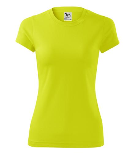 Koszulka Damska A 140 Fantasy  - 140_90_A - Kolor: Neon yellow