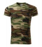 Koszulka A 144 Camouflage  - 144_33_A camouflage brown