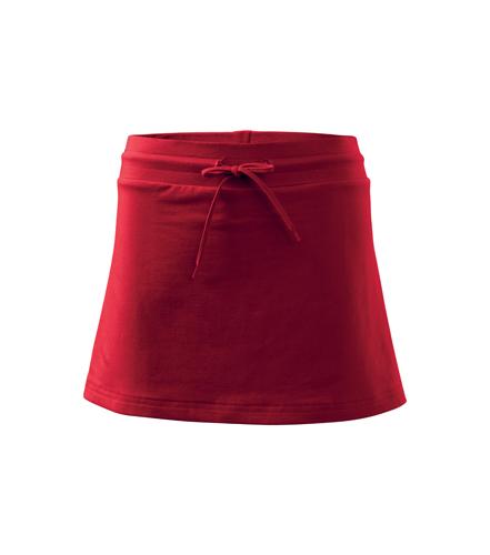 Spódnica A 604 SKIRT TWO IN ONE 200 - 604_07_A - Kolor: Czerwony