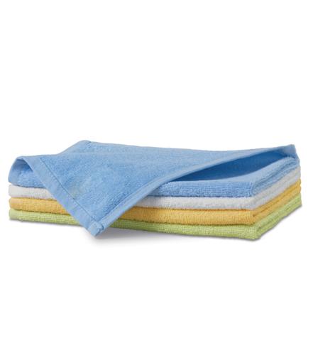 Ręcznik mały A 907 TERRY TOWEL 350 - 907_15_C - Kolor: Błękitny