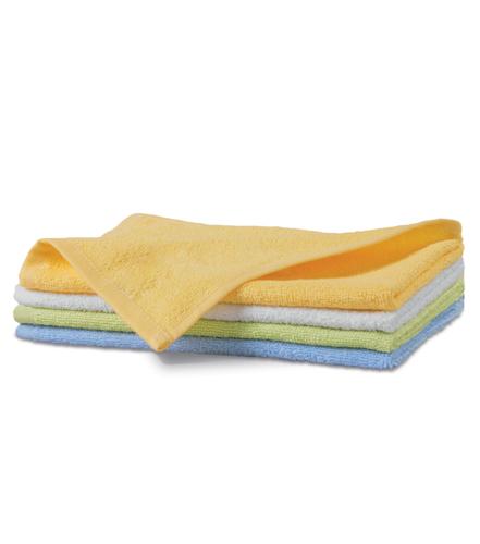 Ręcznik mały A 907 TERRY TOWEL 350 - 907_18_C - Kolor: Jasno żółty