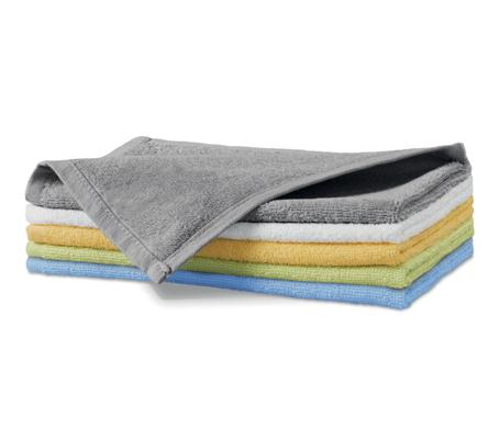 Ręcznik mały A 907 TERRY TOWEL 350 - 907_24_C - Kolor: Jasno szary