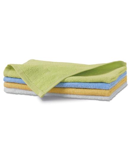 Ręcznik mały A 907 TERRY TOWEL 350 - 907_31_C - Kolor: Jasna zieleń