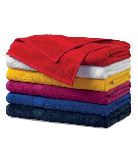 Ręcznik duży A 905 TERRY BATH TOWEL 450 - 905_07_C - Kolor: Czerwony