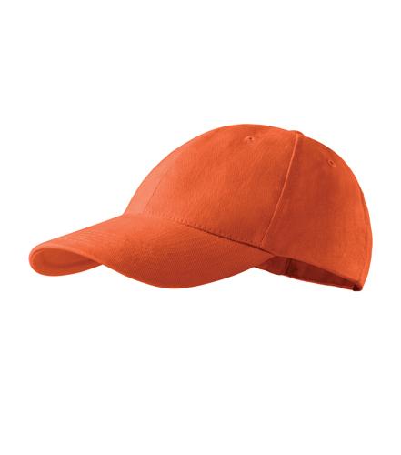 Czapka Kid A 303 6P - 303_11_C - Kolor: Pomarańczowy