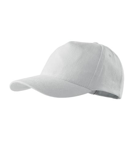 Czapka A 307 5P - 307_00_C - Kolor: Biały