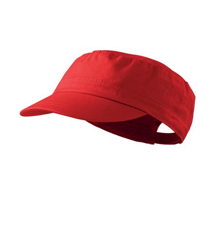 Czapka A 324 LATINO - 324_07_C - Kolor: Czerwony
